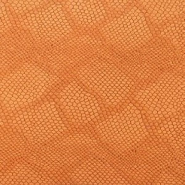 orange python Leather