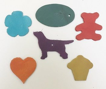 Counrty soft die cut shapes