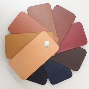 Knightsbridge vaeg tan samples leather for craft