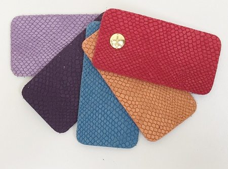 Python Embossed samples Leather