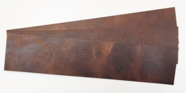Horween Derby Nut Brown Watch straps