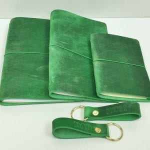 PREMIUM PULL UP LEATHER NOTEBOOK