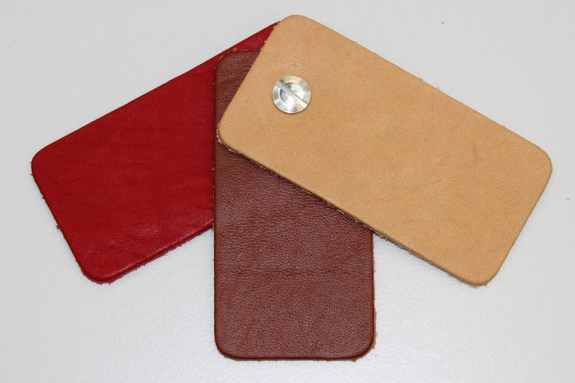caf1bf8a626 Horween Essex Veg Tan Leather Samples. - Leather4Craft