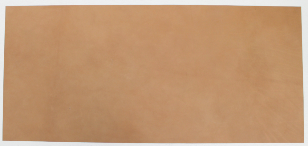 Horween Chromexcel Leather Veg Re Tan Navy Panels 2.0-2.2 mm Thick Firm Feel.